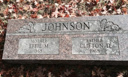 Burial Place of Clifton & Effie Johnson
