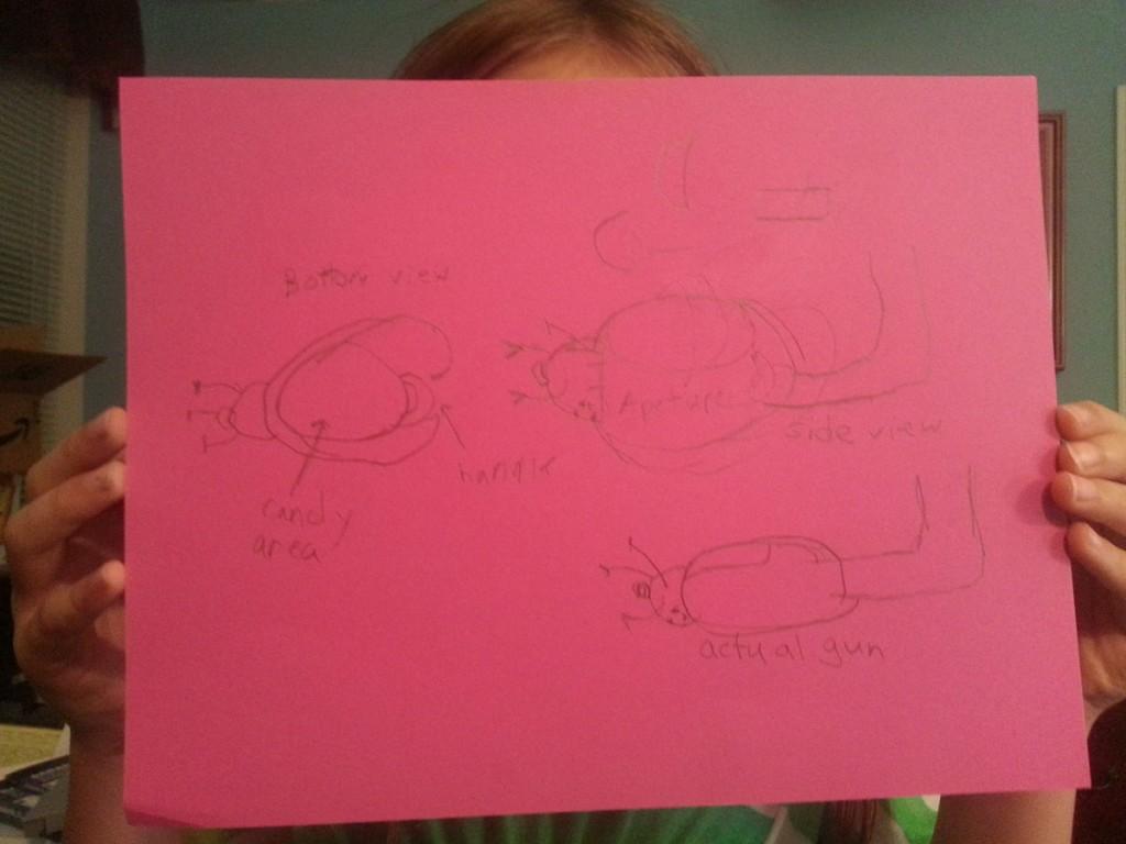 Portal Gun Project: Preliminary Sketch